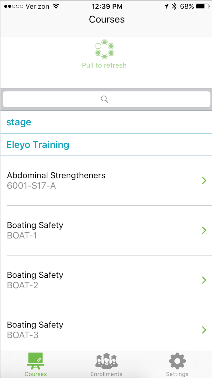 Installing the Eleyo Course Roster iOS App – Eleyo